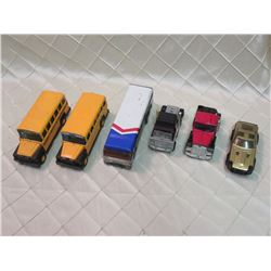 Toy Truck Lot