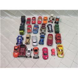Mix of Hotwheels, Matchbox, Etc Toy Car Lot