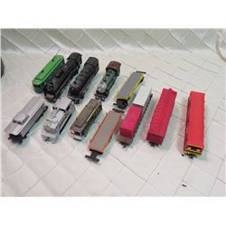 Lot of Mixed Trains