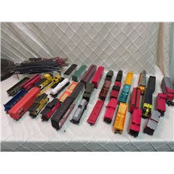 Lot of Mixed Train Items