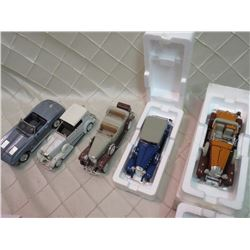 Lot of Model Diecast Cars