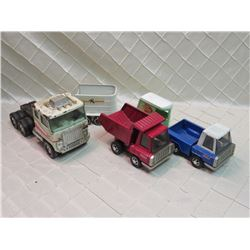 Tin Toy Truck Lot