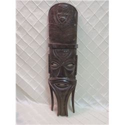 Wooden Display Mask