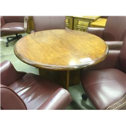 CHERRY 4' CONFERENCE TABLE
