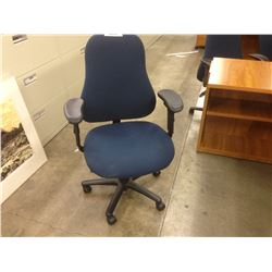 NAVY PYRUS FULLY ADJUSTABLE TASK CHAIR