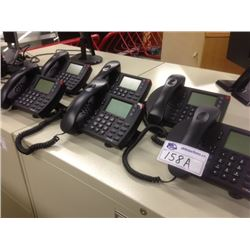 LOT OF 6 SHORETEL 230 DISPLAY HANDSETS