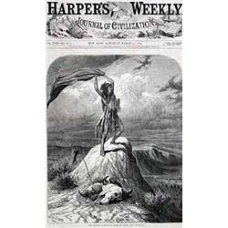 Harper's Weekly, W.M. Cary Engraving