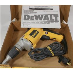 DEWALT DW-272 DRYWALL SCREWGUN IN ORIGINAL BOX