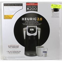 NEW IN BOX - KEURIG 2.0 (K200) COFFEE MAKER