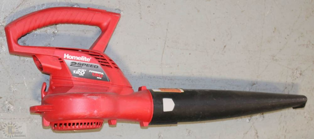 Homelite Electric Blower : Homelite speed powerful mph electric blower
