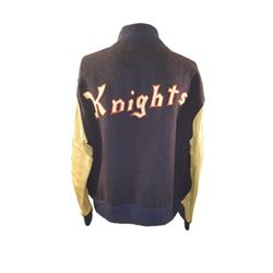 The Natural Roy (Robert Redford) Screen Worn Varsity Jacket Movie Costumes