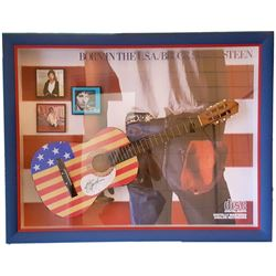 Bruce Springsteen Signed Guitar Framed