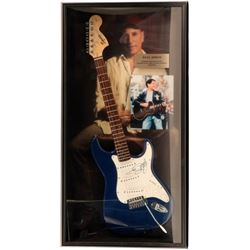 Paul Simon Signed Guitar Framed