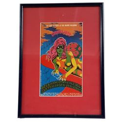 Canned Heat Signed Concert Artwork Framed