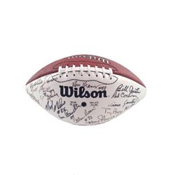 Green Bay Packers Legends Signed Football