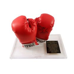 George Foreman Signed Boxing Gloves