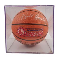 Bill Bradley NCAA Championship Signed Basketball