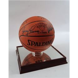The New York Knicks Signed Basketball 1972-73 Team