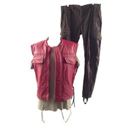 Resident Evil: Retribution Barry Burtons (Kevin Durand) Bloody Movie Costumes