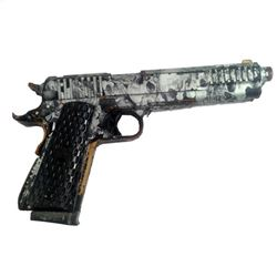 Resident Evil: The Final Chapter Christian's (William Levy) Hero Skull Gun Movie Props