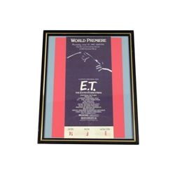 ET World Premiere Original Ticket