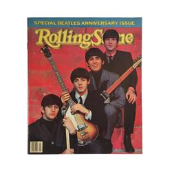 Beatles Rolling Stone Magazine Beatles Anniversary Issue Cover A