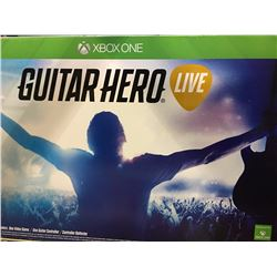 X BOX 1 GUITAR HERO LIVE