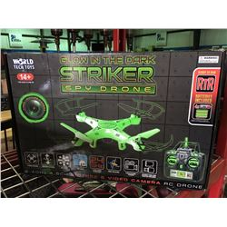 GLOW  IN THE DARK STRIKER SPY DRONE