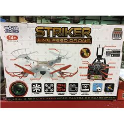 WORLD TECH TOYS STRIKER LIVE FEED DRONE