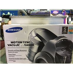 SAMSUNG MOTION SYNC CANNISTER VACUUM