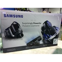 SAMSUNG SURPRISINGLY POWERFUL CANNISTER VACUUM