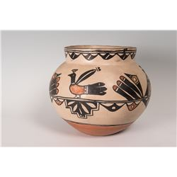 "Santo Domingo Pueblo Olla Pot, 10 ½"" x 12 ½"""