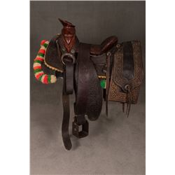 "Mexican Saddle, 14"" seat"