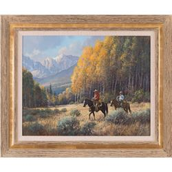 Martin Grelle, oil on canvas