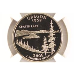 2005-S OREGON QUARTER NGC PF69 ULTRA CAMEO