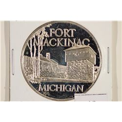 24.9 GRAM STERLING SILVER PROOF ROUND FORT