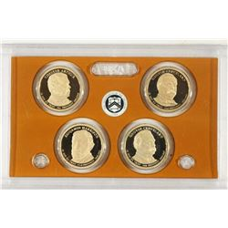 2012-S PRESIDENTIAL DOLLAR PROOF SET NO BOX
