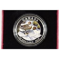 2014 CANADA $10 FINE SILVER COIN PROOF
