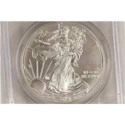 2012 AMERICAN SILVER EAGLE PCGS MS70 1ST STRIKE