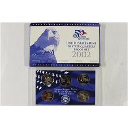 2002 US 50 STATE QUARTERS PROOF SET