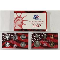 2002 US SILVER PROOF SET (WITH BOX)