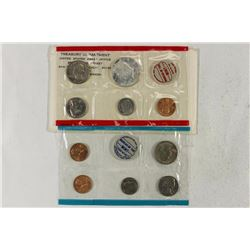 1968 US MINT SET (UNC) P/D/S (WITH ENVELOPE)