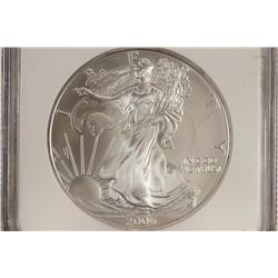 2006 AMERICAN SILVER EAGLE NGC MS69 1 OF 1ST
