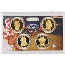 2008 PRESIDENTIAL DOLLAR PROOF SET NO BOX