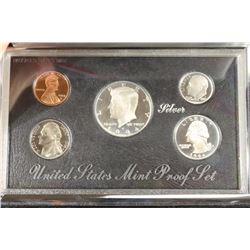 1994 US SILVER PREMIER PROOF SET (WITH BOX)