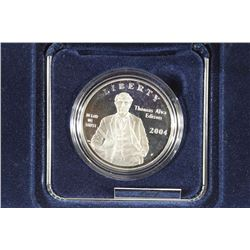 2004-P THOMAS EDISON COMMEMORATIVE PROOF