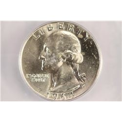 1964-D WASHINGTON SILVER QUARTER ICG BINION