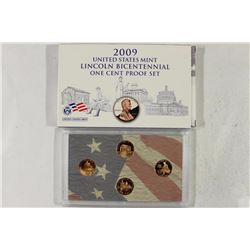 2009 US MINT LINCOLN BICENTENNIAL 1 CENT PF SET