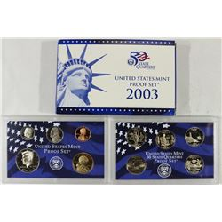 2003 US PROOF SET (WITH BOX)