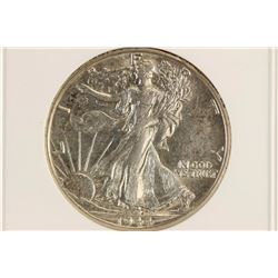 1944-D WALKING LIBERTY HALF DOLLAR ANACS AU55
